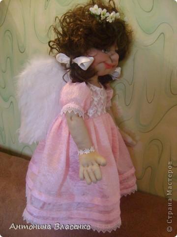 Выставляю на ваш суд своих ангелов.Сделаны они для двух сестричек фото 8
