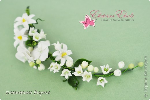 Для украшения были выбраны цветы: лилия, ландыши, гиацинт и гортензия фото 2