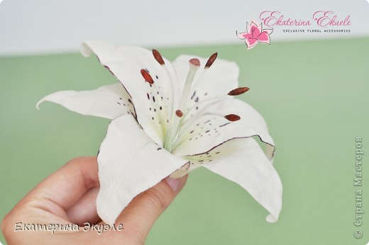 Для украшения были выбраны цветы: лилия, ландыши, гиацинт и гортензия фото 4