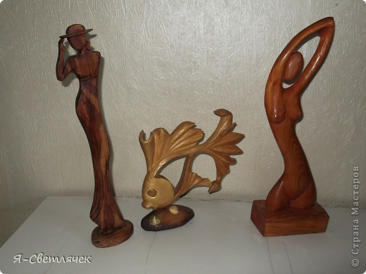 Фото фигурок из дерева своими руками