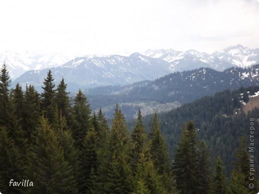 Продолжение. Начало:  http://stranamasterov.ru/node/379987  Это когда мы поднялись на конечную станцию. Горы называются Хорнгруппе.   фото 2
