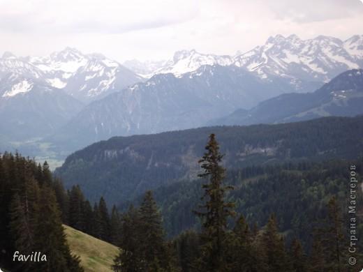 Продолжение. Начало:  http://stranamasterov.ru/node/379987  Это когда мы поднялись на конечную станцию. Горы называются Хорнгруппе.   фото 1