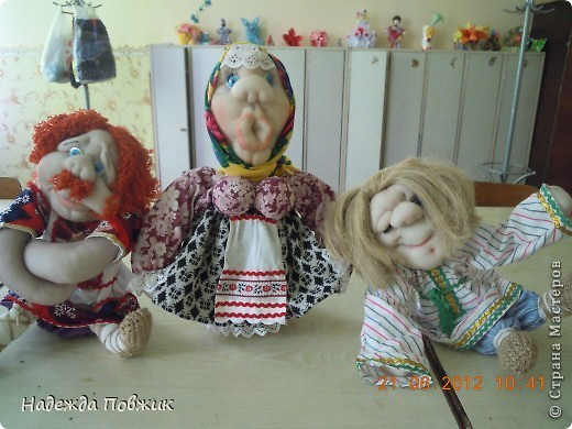 Мои куклы. Семья. фото 1
