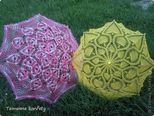 первый и самый любимый зонт, с него и началось.....второй....третий....сейчас и не вспомню какой следующий)) очередной) фото 7
