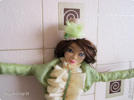 А это моя 2-ая куколка (см 40 где-то) фото 2
