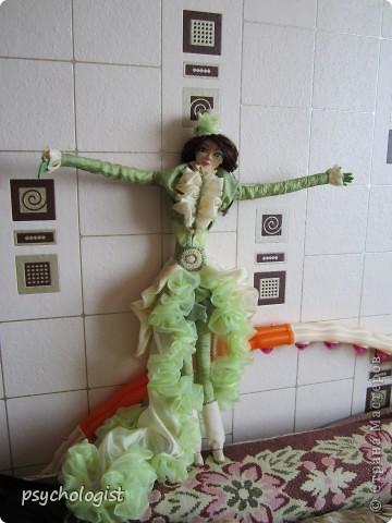 А это моя 2-ая куколка (см 40 где-то) фото 1