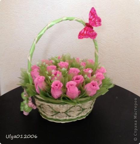 Розовые розы фото 1
