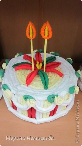 Первые тортики моих учениц! фото 2
