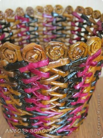 Вот решила попробовать и такое плетение, прикольно смотрится,  фото 3