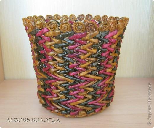 Вот решила попробовать и такое плетение, прикольно смотрится,  фото 1