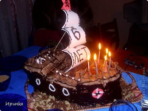 Тортик для свекра-любителя рыбалки. фото 8