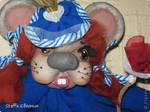 Вдохновлённая мышками Елены(LenorCHIK),вот сделала свою мадмуазель Мышкину))) фото 2