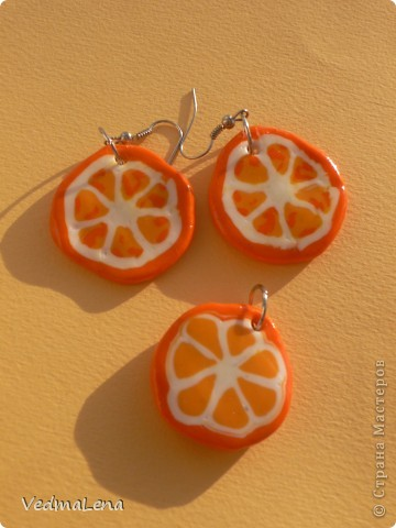 Первая проба сделать апельсинки фото 1