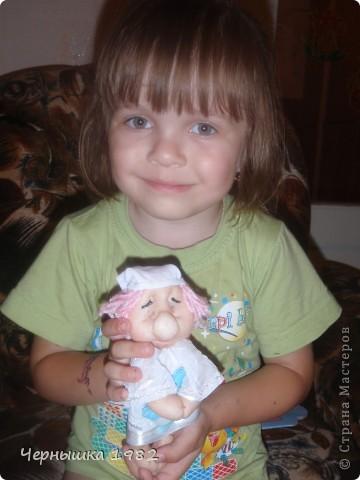 Продолжаю учиться делать кукол. Оказалось это заразная штука..  фото 6