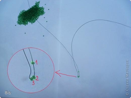 Мастер-класс Бисероплетение Рябина из бисера веточки Бисер фото 3