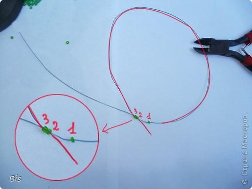 """В этом МК я постараюсь показать, как делать вот такие листики рябины. Если делать поэтапно, повторяя за изображением на фото, то должно получиться все без проблем:). К этому МК есть еще продолжение """"Ствол из гипса для бисерного деревца"""", его можно посмотреть здесь: http://stranamasterov.ru/node/382814 фото 4"""