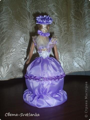 Моя кукла-шкатулка.Как долго я собиралась с духом, что бы её сделать.Не судите строго, она у меня первая. Надеюсь не последняя. фото 3