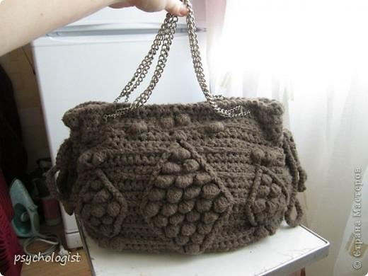 Моя первая сумочка (идею клатчика где-то подсмотрела, и автору за это огромное спасибо) фото 3