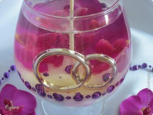 Свадьба в фиолетовых тонах. фото 2