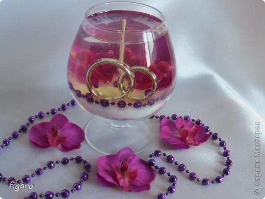 Свадьба в фиолетовых тонах. фото 4