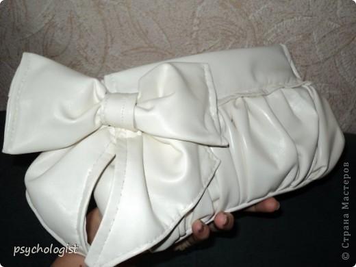 Моя первая сумочка (идею клатчика где-то подсмотрела, и автору за это огромное спасибо) фото 5
