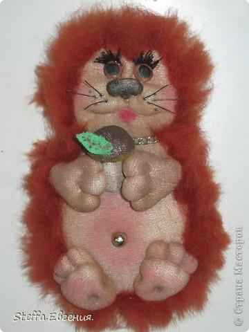 Вдохновлённая мышками Елены(LenorCHIK),вот сделала свою мадмуазель Мышкину))) фото 4