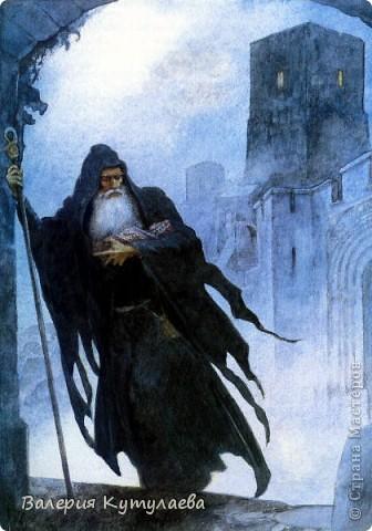 Познакомьтесь: Мерлин - мудрец и волшебник, наставник и советник короля Артура!!! На этом фото я изобразила Мерлина в дремучем, дремучем лесу. фото 5
