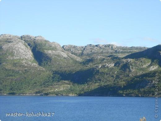 правда красота? угадайте где это Вы? а я знаю!в Норвегии! это маленький водопадик.но он не такой и уж и маленький!очень длинный.. фото 12