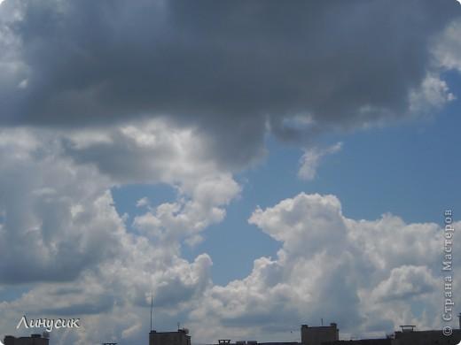 Небо, облака и ласточки фото 22
