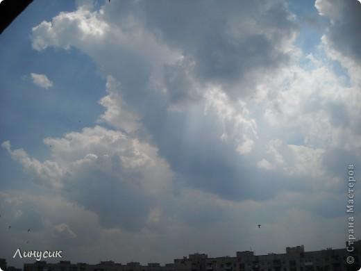 Небо, облака и ласточки фото 17