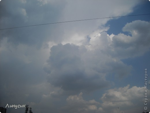 Небо, облака и ласточки фото 18