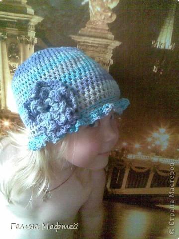 шапочка для доченьки
