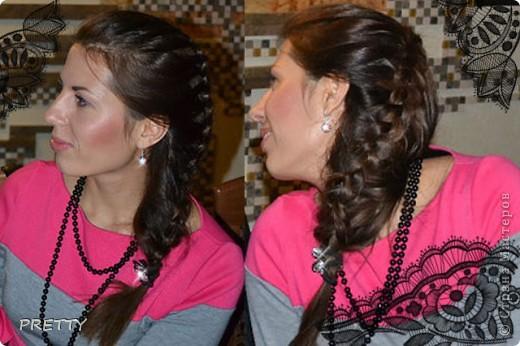 свободная обратная коса фото 1