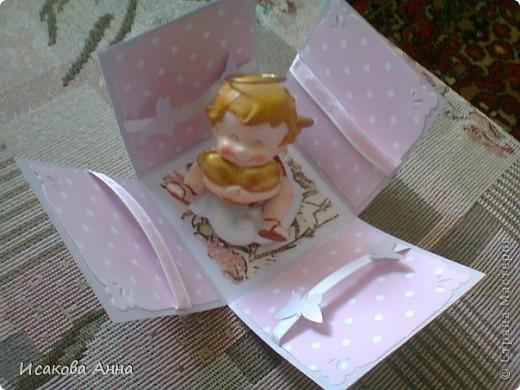 вот такая коробочка для денег и маленького подарочка на свадьбу фото 4