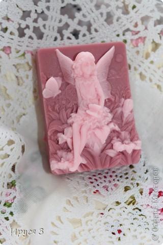 Мыло сварила из основы , добавила хлопковое масло  и аромат цветущей сакуры -)))  фото 3