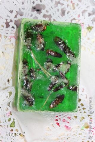 Мыло сварила из основы , добавила хлопковое масло  и аромат цветущей сакуры -)))  фото 17