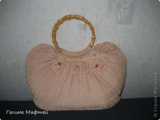 моя первая сумочка