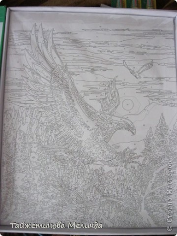 УРАААА!!! Наконец-то я закончила картину рисовать!!!  фото 3