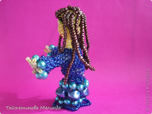 Четвертая и наверное, последняя работа на конкурс http://stranamasterov.ru/node/372481#comment-4355898 от замечательной мастерицы Марии (бригантины) Кукла Фея Моргана фото 4