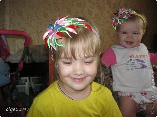 Заколочки для моих дочурок фото 3