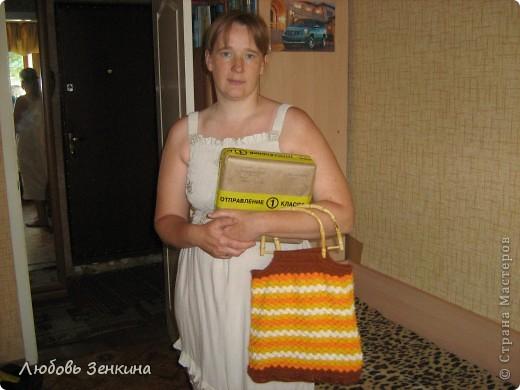 Я получила долгожданный приз !!! Спасибо Голубке( Ирина)и Бригантине за такие подарки,  и поздравления. фото 2