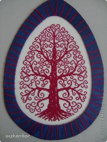 Вышивка крестом мои деревья канва
