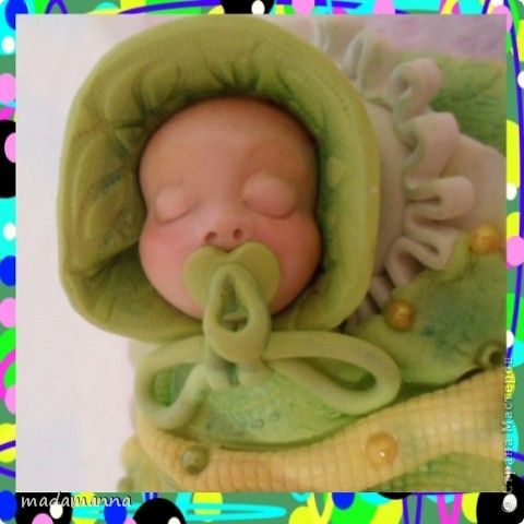 И снова ЗДРАСТЕ!!!опять я с ляльками-банками, и опять в подарок Анечке-ALIBI, или, как зовет ее моя дочь-ТЕТЕ ЯБЛОНЕ-приятное прозвище, не правда ли???Вот и баночка получилась под стать-цвета молодой яблоневой листвы! фото 6