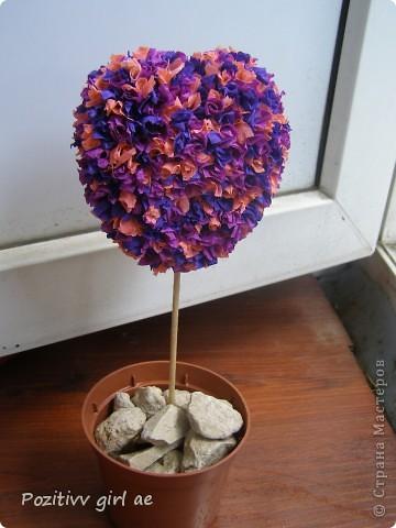 Вот моё любимое дерево.Делала его для бабушки.Она оказалась довольна) фото 1