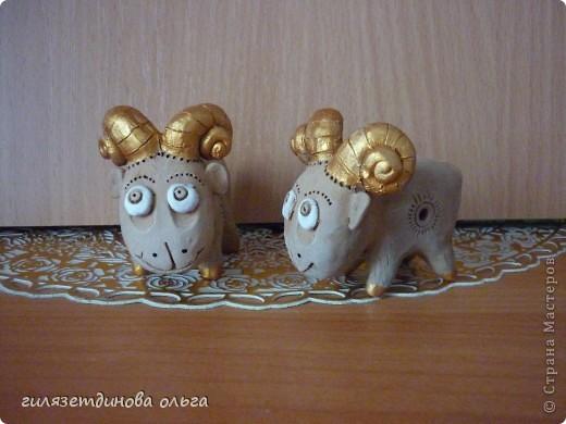Глиняные игрушки-свистульки фото 1