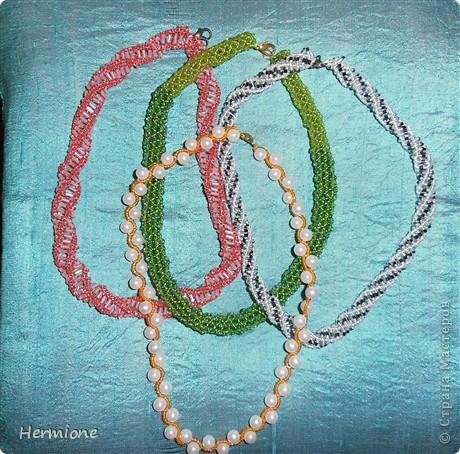 Добрый день уважаемые жители страны мастеров!!!Хочу всем представить свою новую коллекцию бисерных украшений.Буду очень рада видеть всех в гостях! фото 6