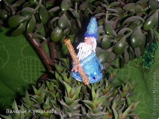 Познакомьтесь: Мерлин - мудрец и волшебник, наставник и советник короля Артура!!! На этом фото я изобразила Мерлина в дремучем, дремучем лесу. фото 1
