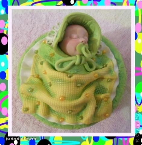 И снова ЗДРАСТЕ!!!опять я с ляльками-банками, и опять в подарок Анечке-ALIBI, или, как зовет ее моя дочь-ТЕТЕ ЯБЛОНЕ-приятное прозвище, не правда ли???Вот и баночка получилась под стать-цвета молодой яблоневой листвы! фото 2