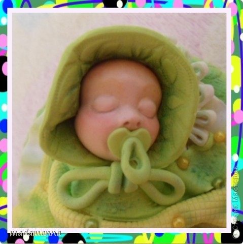 И снова ЗДРАСТЕ!!!опять я с ляльками-банками, и опять в подарок Анечке-ALIBI, или, как зовет ее моя дочь-ТЕТЕ ЯБЛОНЕ-приятное прозвище, не правда ли???Вот и баночка получилась под стать-цвета молодой яблоневой листвы! фото 3