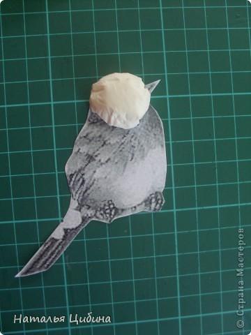 """Приветик всем!!! После того, как я выставила свою работу с птичками """"В саду!"""" http://stranamasterov.ru/node/381704, ко мне многие мастерицы обратились с просьбой сделать МК. Вот сегодня я выставляю свой МК.  фото 5"""